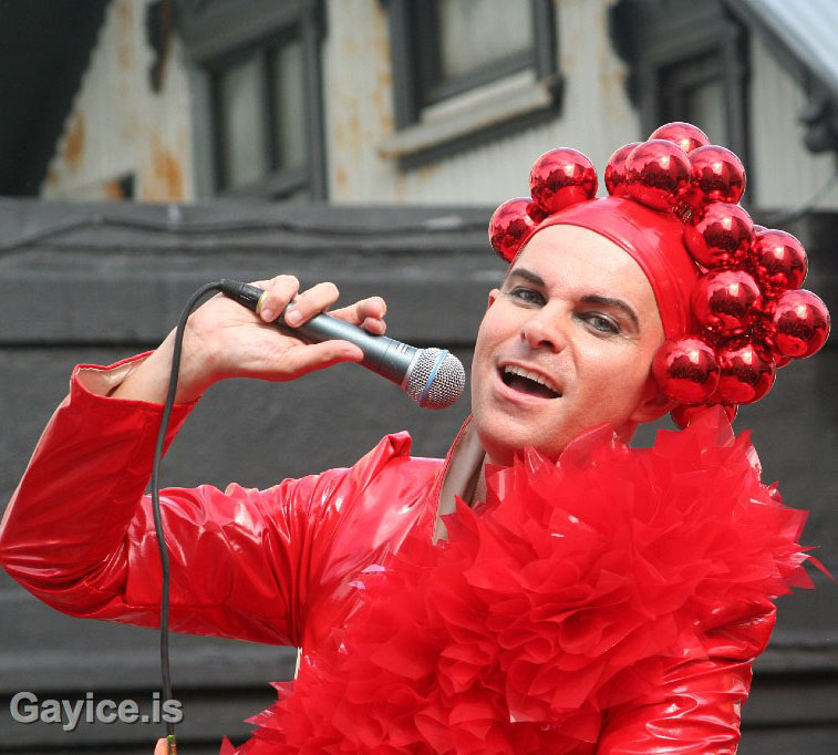 Paul Oscar at Gay Pride 2010