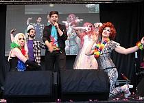 Reykjavik Pride 2017 stage show